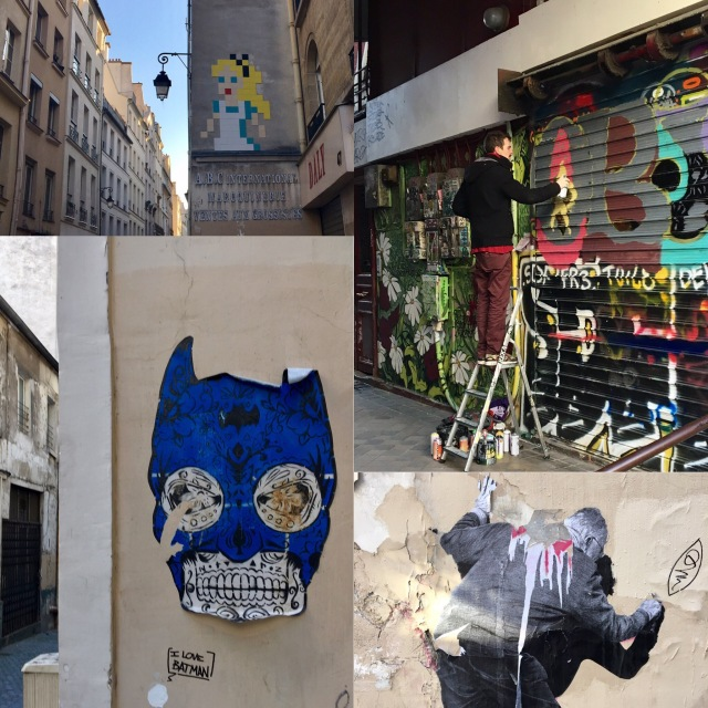 Street art, Paris France