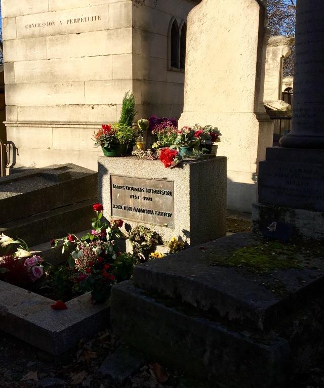 Pere Lachaise Cemetery, Paris, France - Jim Morrison