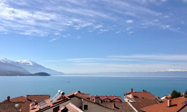 Lake Ohrid rooftops