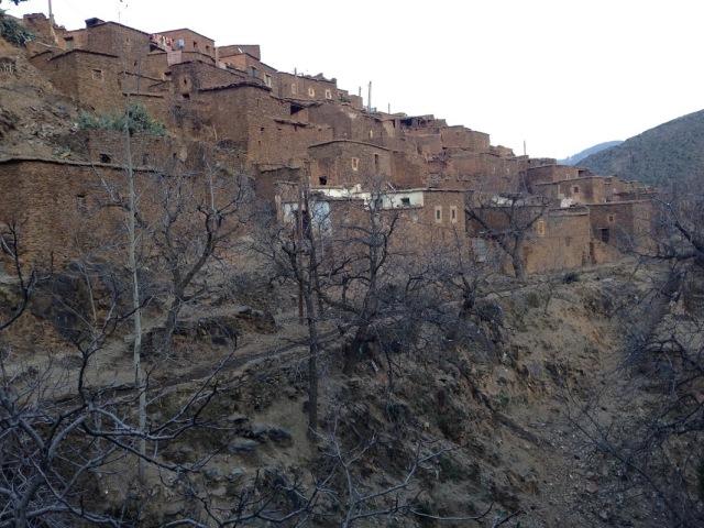 Village, Atlas Mountains, Morocco