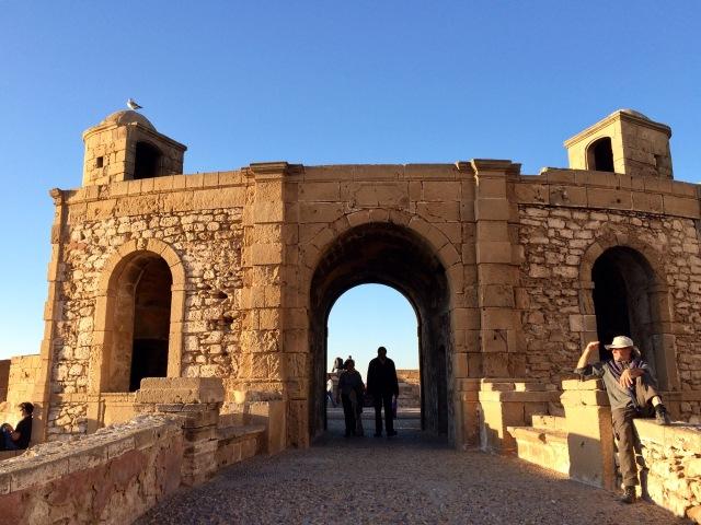 Golden light, Essaouira