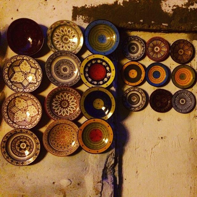 Ceramics in the souk in Essaouira, Morocco