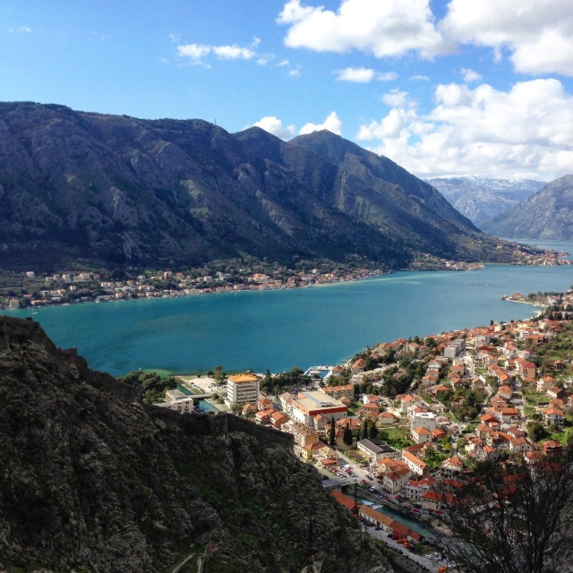 Bay of Kotor known locally as Boka